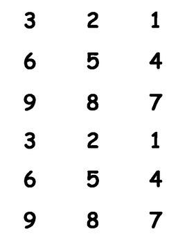 Multiplication Flash Cards (0-12)