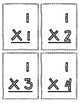 Multiplication Flash Cards - 1