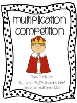 Multiplication Competition & Poster