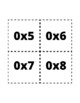 Multiplication Flash Cards 0-10