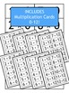 Multiplication Flash Cards