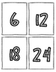 Multiplication Flash Cards - 6