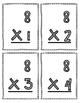 Multiplication Flash Cards - 8