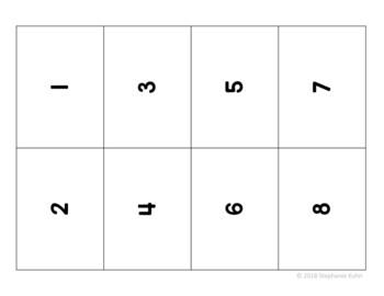 Multiplication Flash Cards FREEBIE