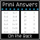 Multiplication Flash Cards - Math Facts 0-12 Flashcards - Printable