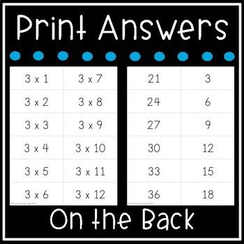 multiplication flash cards math facts 0 12 flashcards. Black Bedroom Furniture Sets. Home Design Ideas