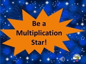 Multiplication Facts Flash Cards PowerPoint Game