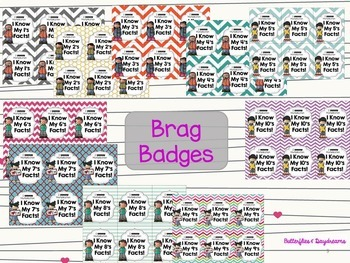 Multiplication Flash Cards, Quizzes, Brag Badges