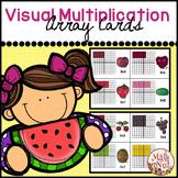 "Multiplication Array Cards ""Fruit Theme"""