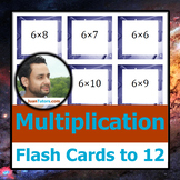× × × Multiplication Flash Cards to 12 × × ×