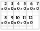 Multiplication Flash Cards to 12
