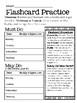 Multiplication Flashcard Practice Freebie