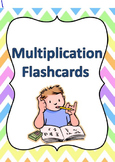 Multiplication Flashcard Set 0-12 Tables