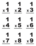 Multiplication Flashcards #1-10