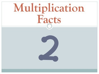 Multiplication Flashcards 2-10