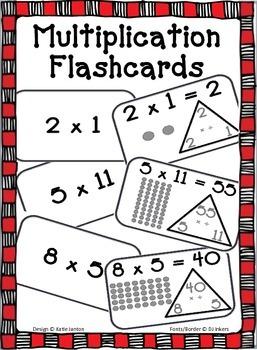 Multiplication Flashcards 2-10