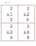 Multiplication Flashcards 2-12