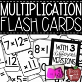 Multiplication Flash Cards {Printable Flashcards with Answers on the Back}