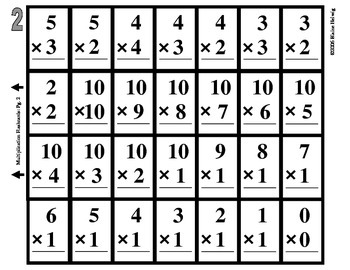 Multiplication Flashcards (Free) Easy to Make