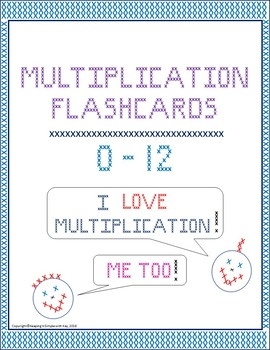 Multiplication Flashcards, Tables, and Tricks