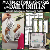 Multiplication Flashcards and Time Tests