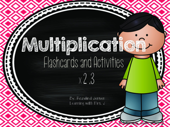 Multiplication Fact Fluency x2 and x3