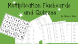 Multiplication Flashcards and Quizzes