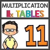 Multiplication Activities for Eleven Times Tables