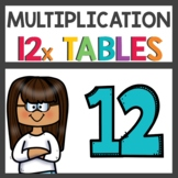 Multiplication Activities and Flip Book for Twelve Time Tables