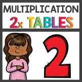 Multiplication Activities for two times tables