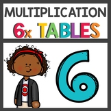 Flip Book and Multiplication Activities for Six Times Tables