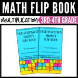 Multiplication Fact Practice Flip Book 0-10 & 0-12