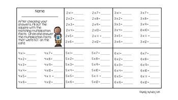 Multiplication Flip Checks