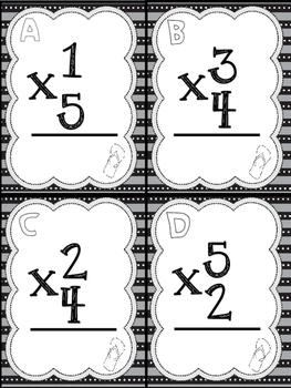 Multiplication Flip Flop Facts