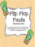 Multiplication Flip Flop Facts