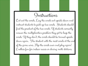 Multiplication Flip Game