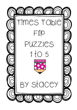 Multiplication Flip Puzzles