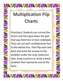 Multiplication Flip Strips