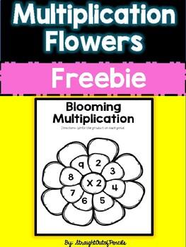Multiplication Flower Activity