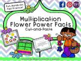 Multiplication Flower Power Facts {Math Center}
