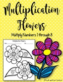 Single Digit Multiplication Fact Worksheets