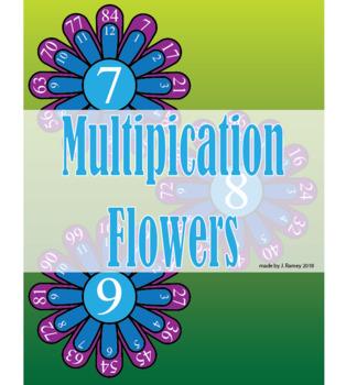 Multiplication Flowers