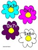 """Multiplication Flowers """"Musical Chair Style"""" Multiply the Room 5 Games in All!"""