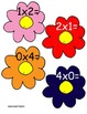 """Multiplication Flowers """"Musical Chair Style"""" Multiply the"""