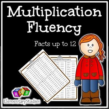 Multiplication Fluency   Distance Learning