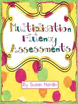 Multiplication Fluency Asseessments