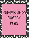 Multiplication Fluency Assessments