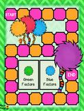 Multiplication Fluency Board Game: The LORAX!