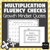 Multiplication Fluency Checks