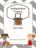 Multiplication Fluency Data Wall